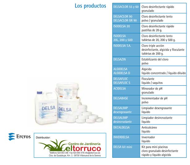 Productos para piscinas el torruco for Productos para piscinas