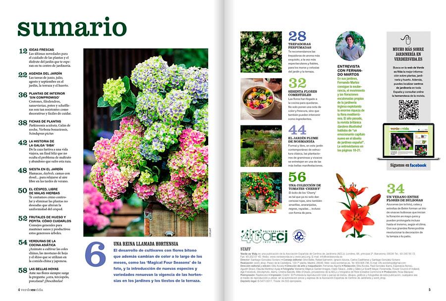 aecj, verde es vida, revista, plantas, jardineria, vivero, el torruco, villanueva de la serena, don benito, badajoz, extremadura